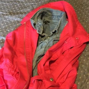 Pink Safari Jacket